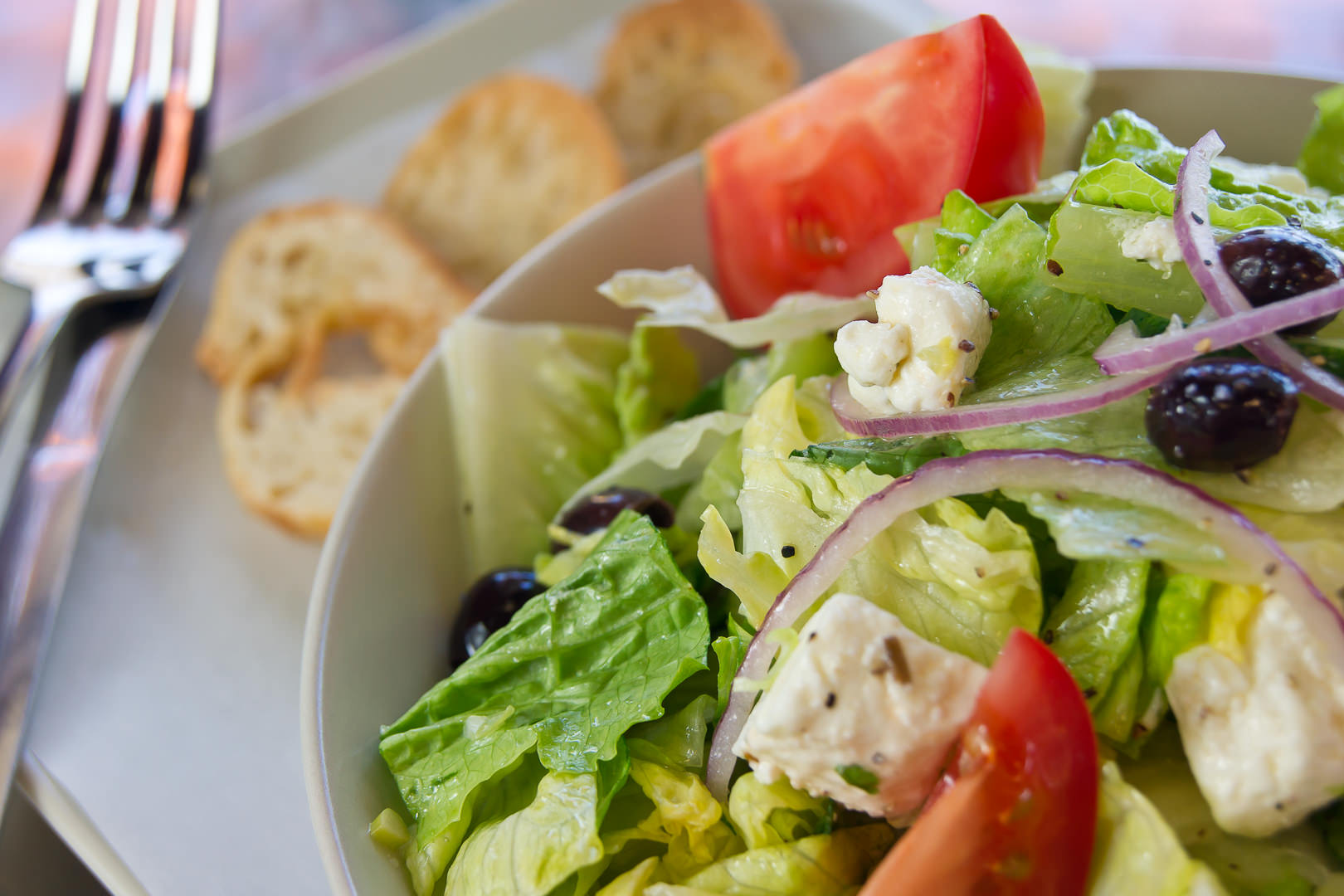 Greek salad - Theresa Fernandez Photography | Dallas Food Photographer