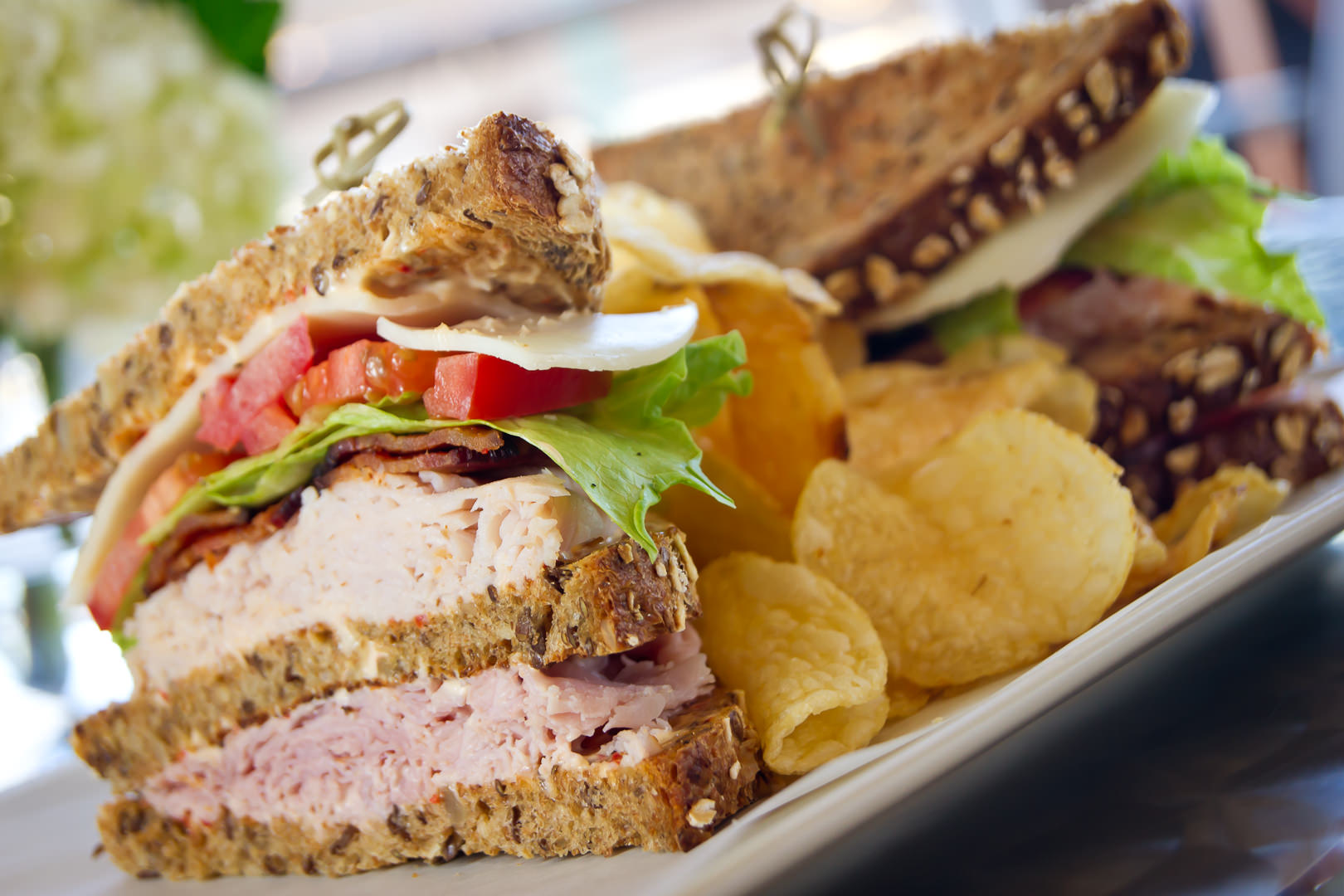 Club Sandwich - Theresa Fernandez Photography | Dallas Food Photographer