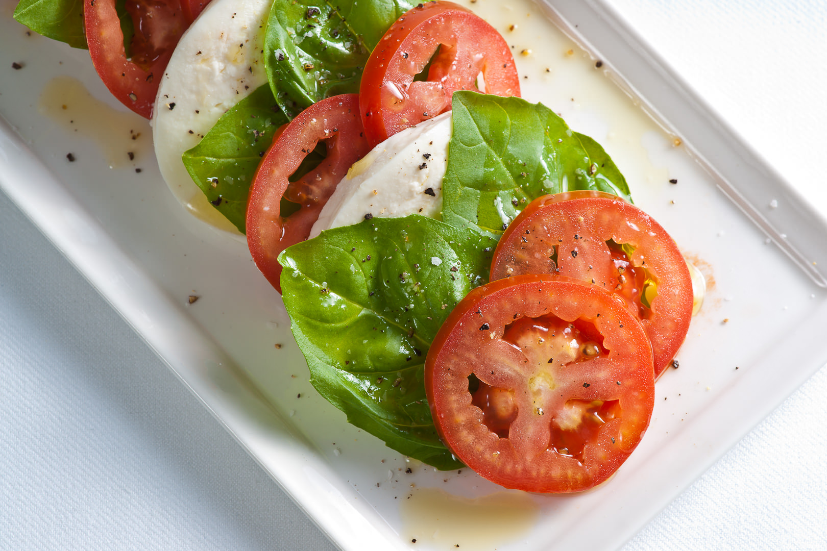 Caprese Salad - Theresa Fernandez Photography | Dallas Food Photographer