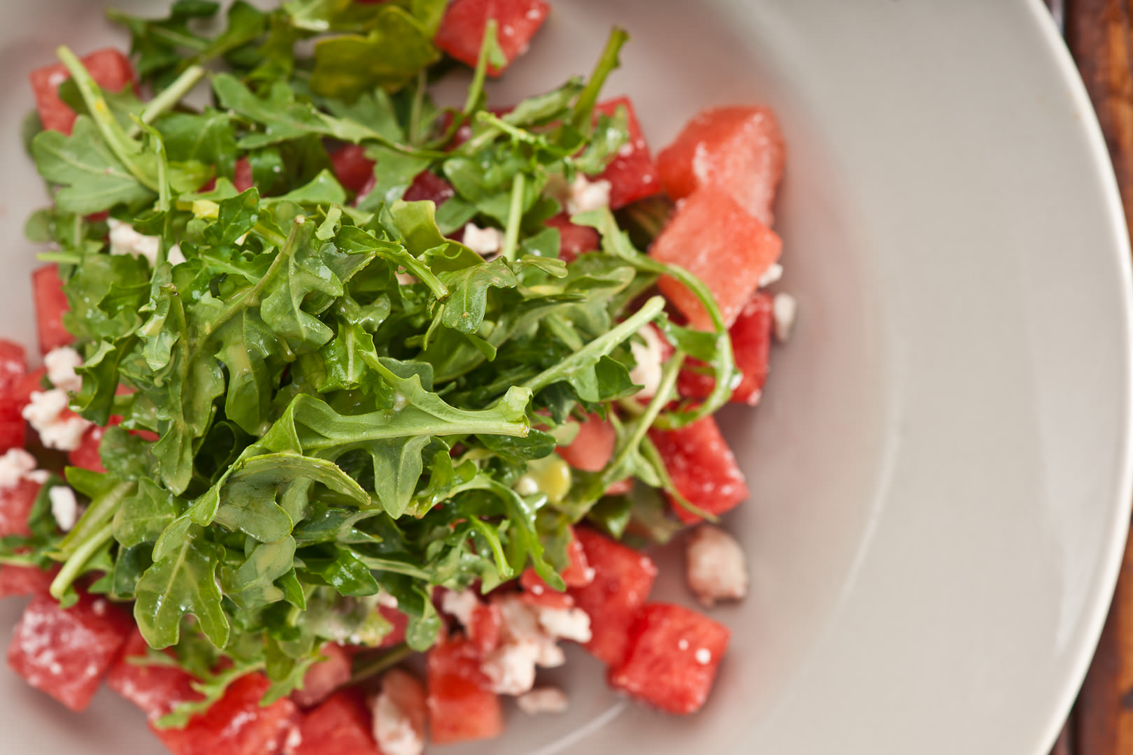 Watermelon and Arugula Salad - Theresa Fernandez Photography | Dallas Food Photographer