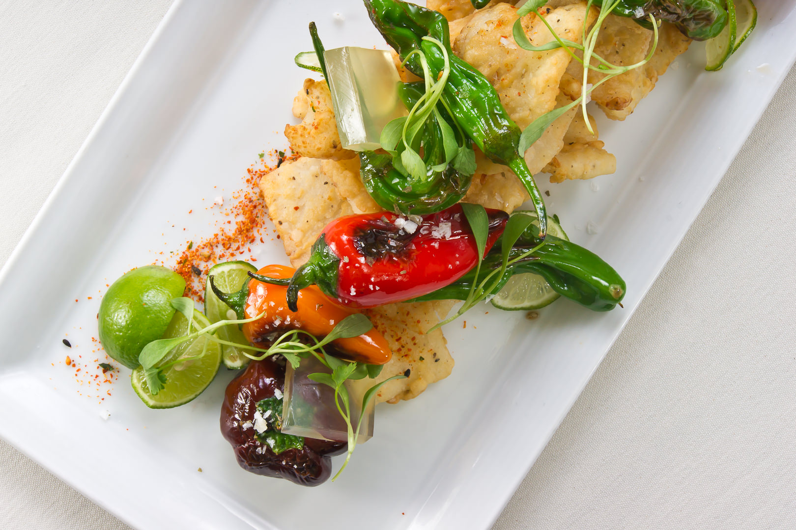 Calamari Abacus - Theresa Fernandez Photography | Dallas Food Photographer