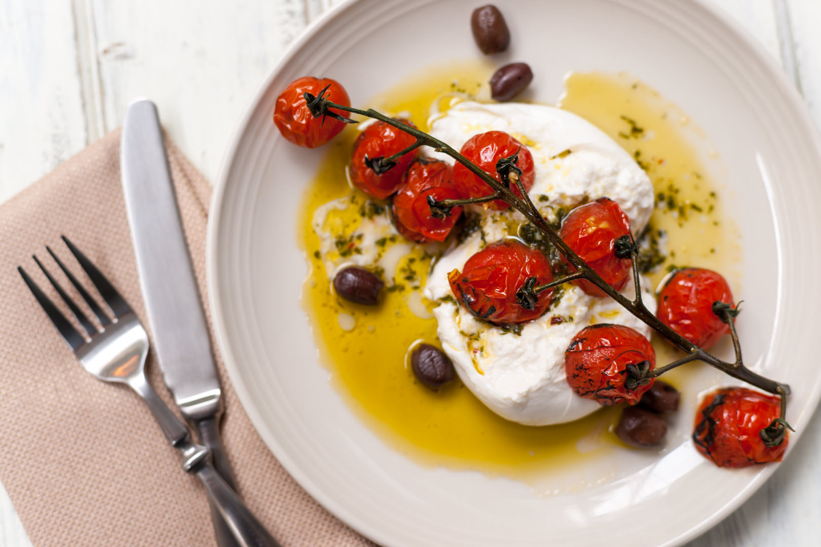 Vivo 53 Burrata - Dallas Food Photographer | Theresa Fernandez Photography