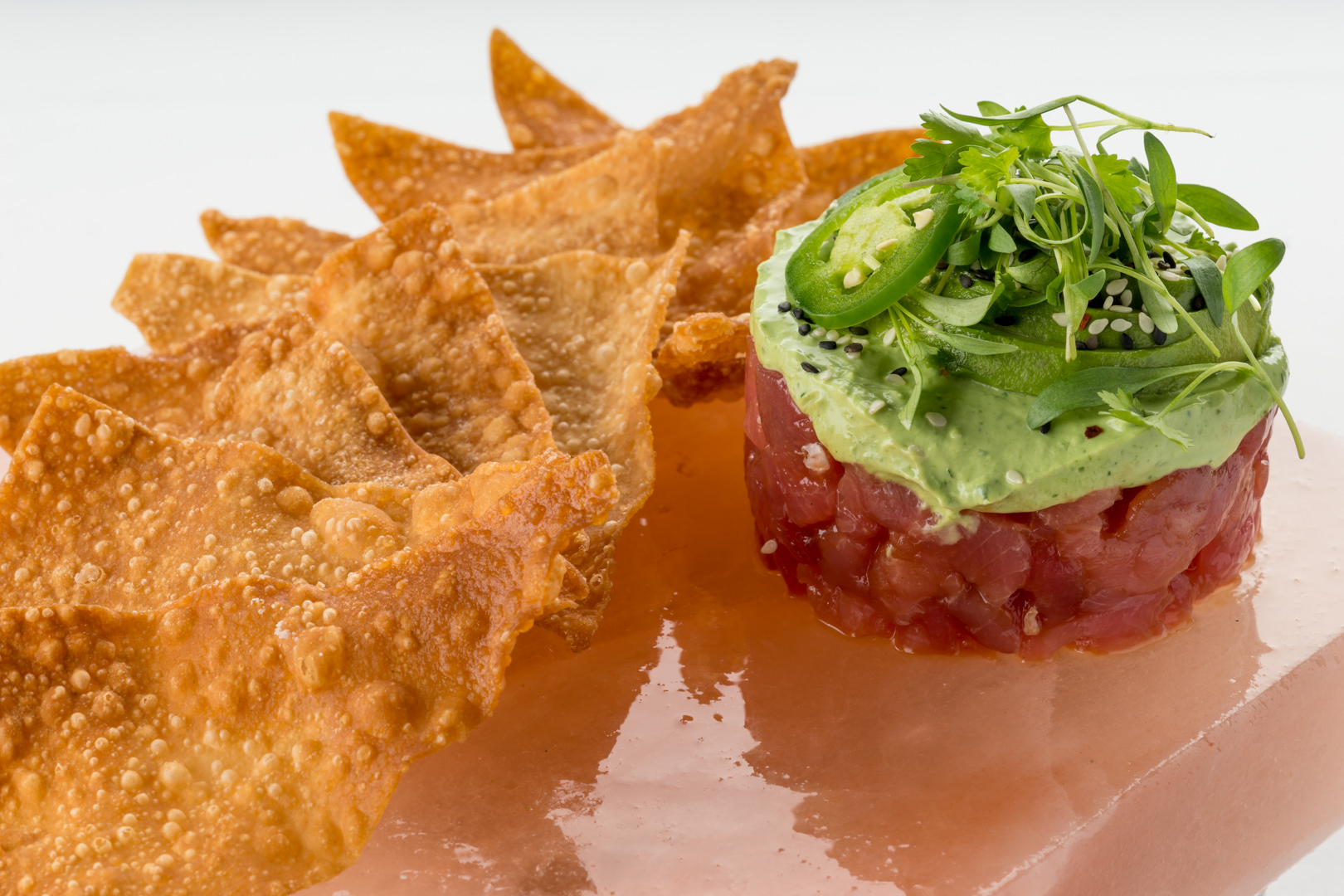 Cool River Cafe - Ahi Tuna Tartare