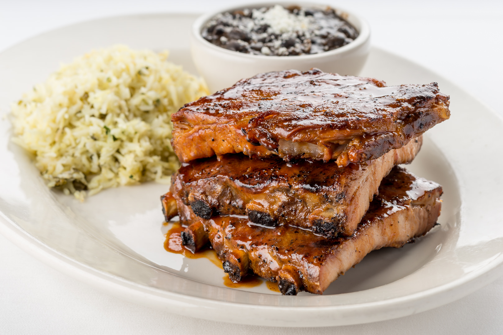 Cool River Cafe - Hickory Smoked BBQ Ribs